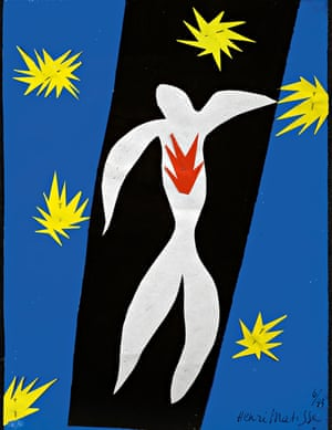 Henri Matisse: The Fall of Icarus(1947)