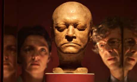 The death mask of William Blake