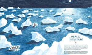 Shackleton's Journey to Elephant Island by William Grill