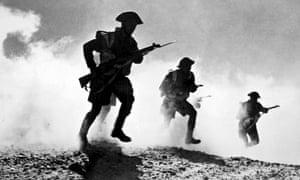 The battle of El Alamein, June 1942.