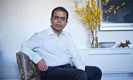Akhil Sharma at home