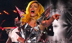 Lady Gaga in concert, The Monster Ball Tour, Madison Square Garden, New York, America - 21 Feb 2011