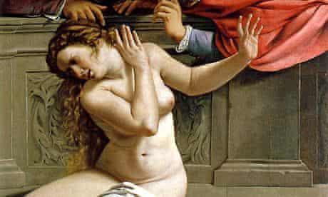 Artemisia Gentileschi's Susanna and the Elders (1610)