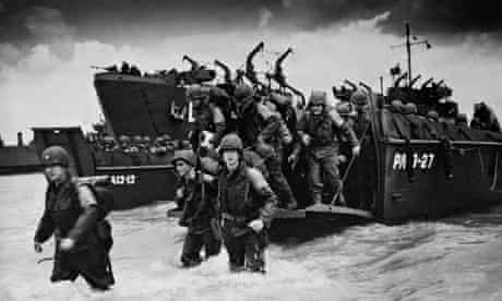 The allied invasion of France on D-day
