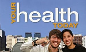 Lesson learned … the cover of Your Health Today.