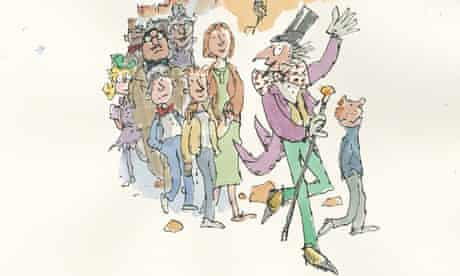 Quentin Blake Charlie cover