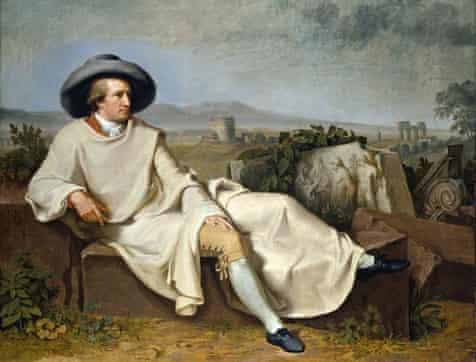 Tischbein's Goethe in the Roman Campagna (1787)