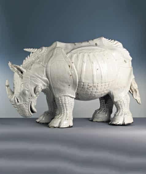 Dürer's <em>Porcelain Rhinoceros</em> (1515).
