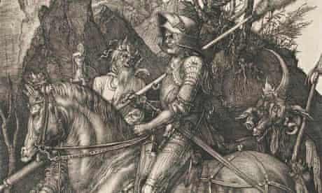 Dürer's <em>Knight, Death and the Devil</em>(1513).