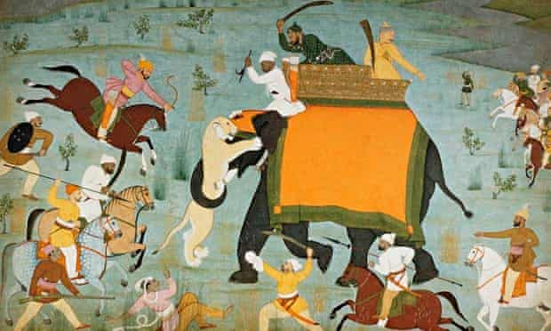 Raja Balwant Singh's Hunt by Nainsukh