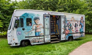 A mobile children's library