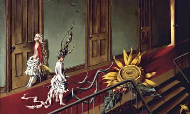 Flower duet … Dorothea Tanning's Eine Kleine Nachtmusik (1943).