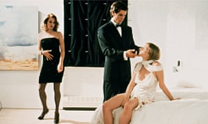 The film version of American Psycho (2000), starring Christian Bale