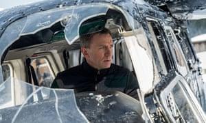 Daniel Craig in the latest James Bond film Spectre