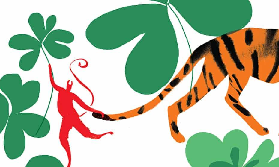 Illustration to go with Irish fiction piece