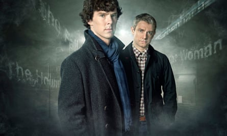 Sherlock, starring Benedict Cumberbatch and Martin Freeman.