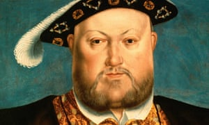Henry VIII Painted in the Style of Hans Holbein the Younger.