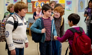 The film adaptation of Jeff Kinney's Diary of a Wimpy Kid, from 2010.