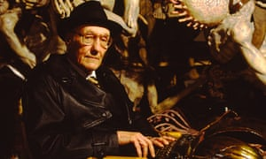 'Industrial-scale use of drugs' … William Burroughs on the set of David Cronenberg's film of Naked L