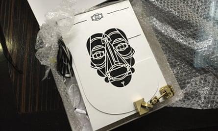 Thijs Biersteker's book-cover prototype