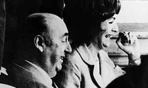 Pablo Neruda and wife Matilde Urrutia