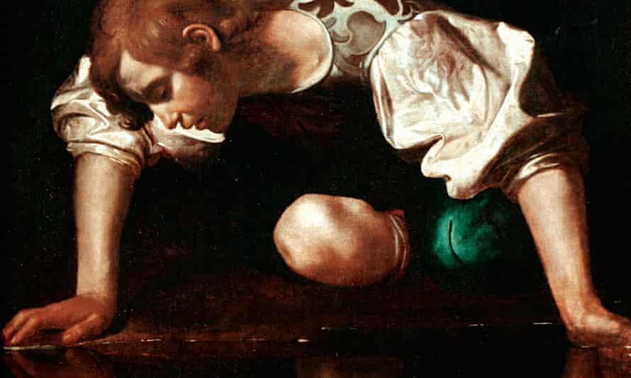 'A certain amount of self-promotion has become obligatory in publishing' … Caravaggio's Narcissus (1
