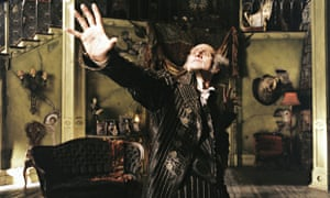 Jim Carrey as Count Olaf in the film adapation Lemony Snicket's a Series of Unfortunate Events.