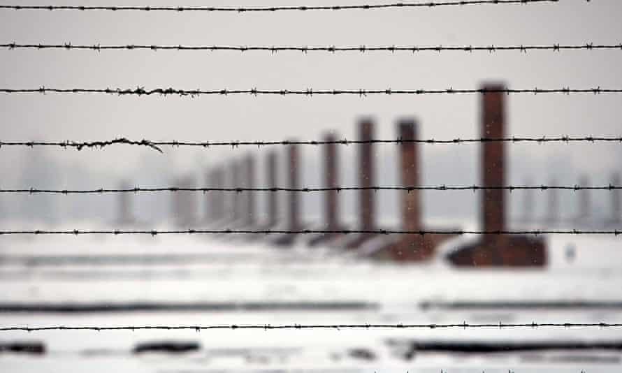 Auschwitz-Birkenau concentration camp.