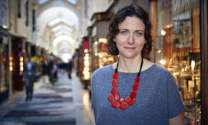 Pamela Cox in the BBC TV series Shopgirls.