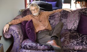 At home in the poetic form … Iain Banks at his house in North Queensferry, Fife, in May 2013.