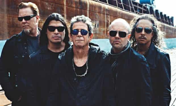 Lou Reed with Metallica