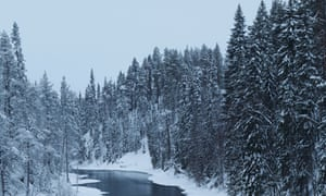White expanses … Ollikainen's Finland.
