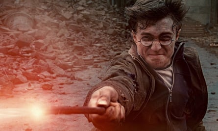 Storytelling magic … Daniel Radcliffe as JK Rowling's Harry Potter, whose series gets the longest en
