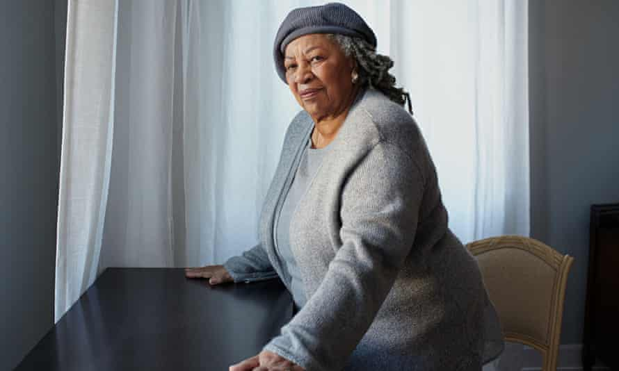 Toni Morrison, in her New York apartment.