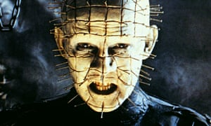 Iconic creation … Doug Bradley as Pinhead in the 1987 film of Clive Barker's Hellraiser.