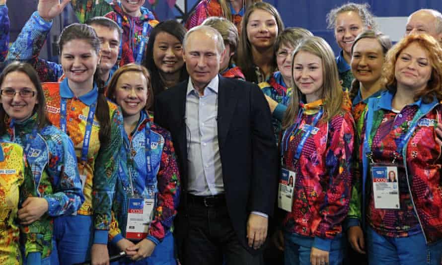 Vladimir Putin Visits Sochi Ahead Of Winter Olympics 2014