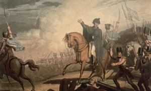 News travels slow … T Fielding's engraving of the Duke of Wellington at Waterloo.