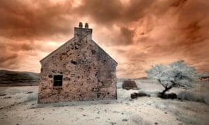 A derelict farmhouse