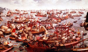 <em>Battle of Lepanto, October 1571</em>, unknown artist