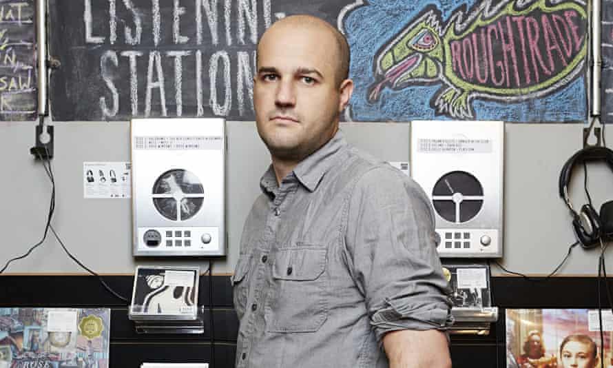 'Enjoyably sardonic' … Stephen Witt at Rough Trade Records in New York.