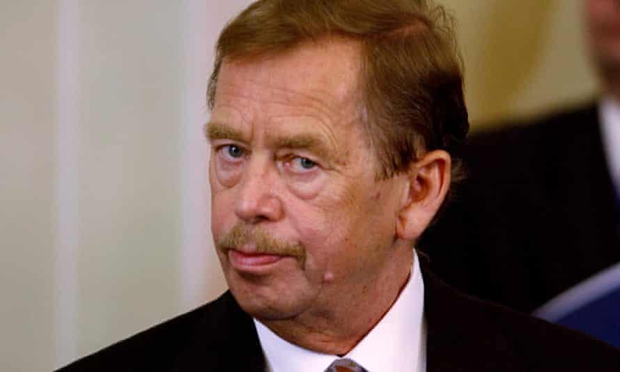 Vaclav Havel in 2002.