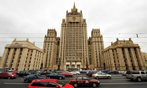 'Head-spinning melodrama' … the Ministry of Foreign Affairs in Moscow – one of Stalin's 'Seven Siste