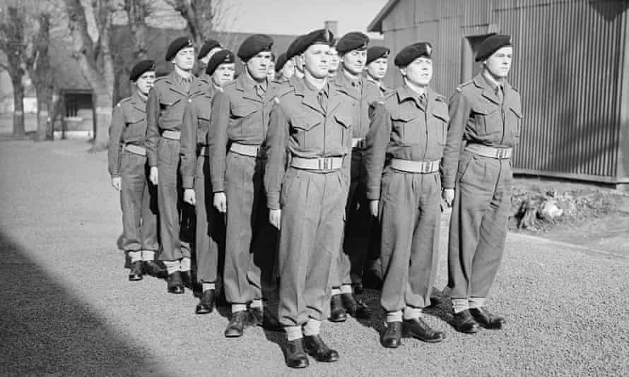 Gruelling discipline and privation … National Service conscripts in 1952.