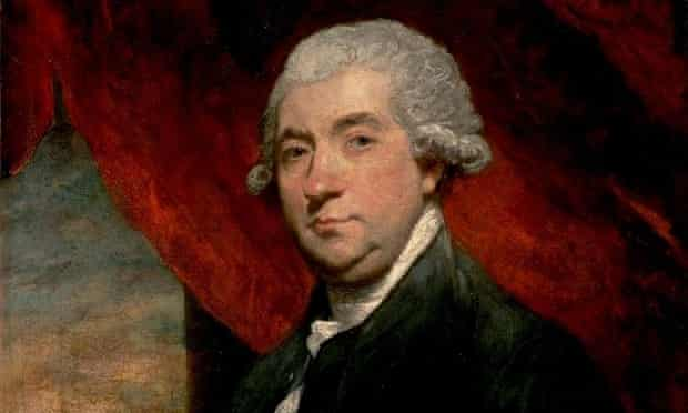 A detail from Joshua Reynolds's portrait of JamesBoswell
