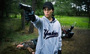 Noomi Rapace as Lisbeth Salander in the 2009 film adaptation of The Girl Who Played With Fire