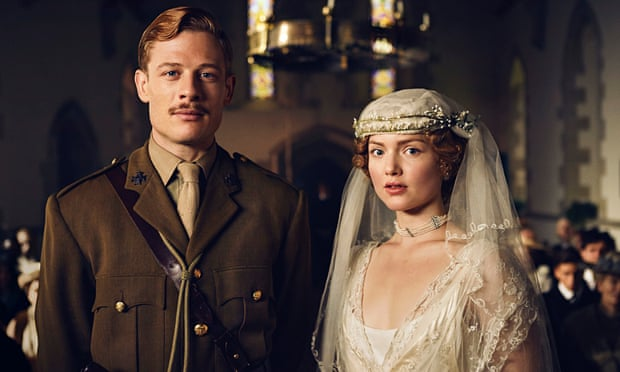 James Norton and Holliday Grainger inthe BBC's  Lady Chatterley's Lover