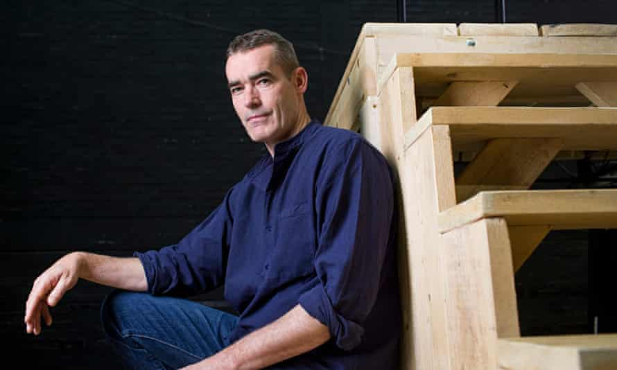 Rufus Norris backstage at the National Theatre