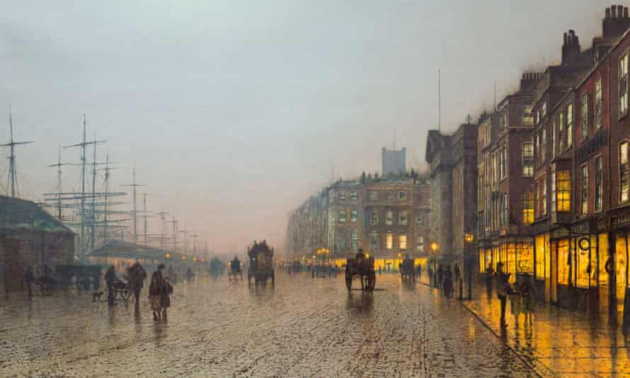 Liverpool from Wapping, 1885 by John Atkinson Grimshaw
