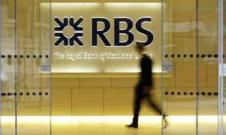 Royal Bank of Scotland branch in the City