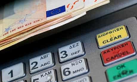 cash machines abroad